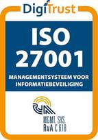 ISO27001 keurmerk i4 gecertificeerd